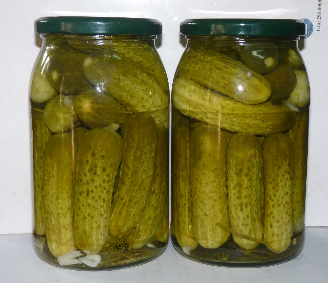 pickled cucumber 6-9 cm in jar 900 ml