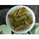 pickled cucumber in jar 720 ml